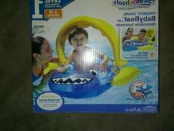 SwimSchool FRIENDLY SHARK Baby Boat, New in Box, Ages 6 to
