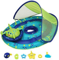 SwimWays Baby Spring Float Activity Center with Canopy - Inf