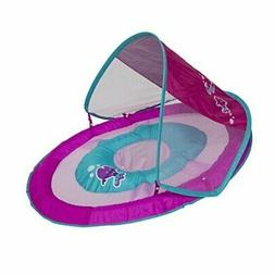 Swimways Baby Spring Float Sun Canopy - Pink Fish Light Pink