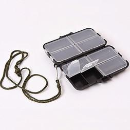 Tackle Boxes & Bags - 9 Compartments Storage Accessories Box