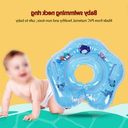 Toddler Baby Swimming Neck Ring PVC Pool Float Inflatable Ba