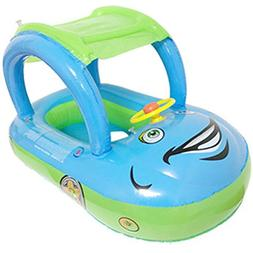 TINTON LIFE Toddler Baby Infant Inflatable Swimming Boat Car