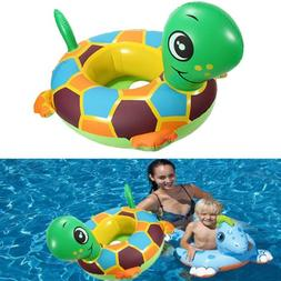 Baby Child Turtle Swim Ring Seat Water Tortoise Seat Swimmin