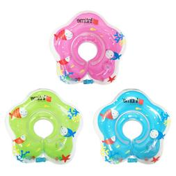 US Baby Swimming Neck Float Inflatables Ring Adjustable Safe