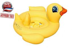 Yellow Duck ducky baby kids Swimming inflatable pool floats